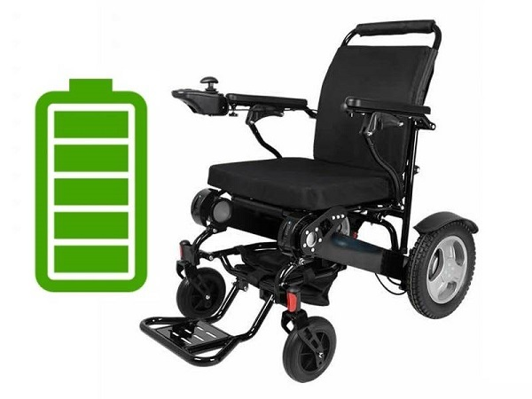 how long do folding electric wheelchair batteries last