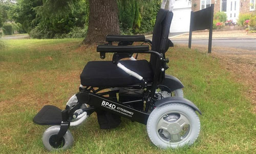 f19 folding electric wheelchair
