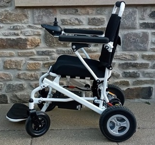 the 1 folding electric wheelchair